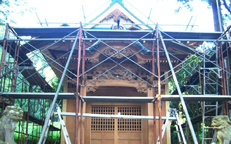 栃本神社(修復・保全)